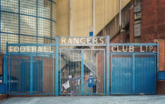 Ibrox Stadium Rangers Celtic