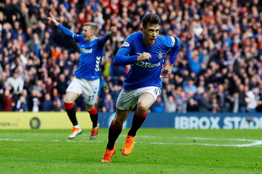 'Best Midfielder In The Country' 'Some Game' Fans On Twitter Hail Rangers Star Following International Display