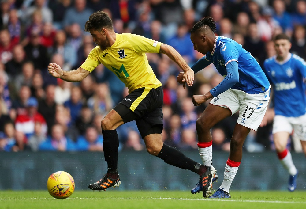 Rangers Star Scores Against Brazil As He Continues To Flourish On International Stage