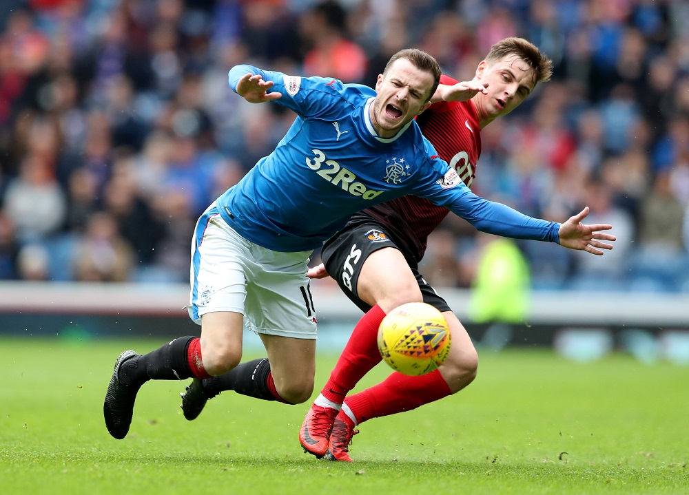 """I Don't Think People Can Argue"" Halliday Makes Boastful Claim About Rangers/Celtic Combined XI"
